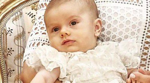 Oscar de Suecia, un bebé serio y tranquilo en las fotos oficiales de su bautizo