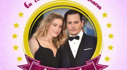 El oscuro divorcio de Amber Heard y Johnny Depp les convierte en las celebrities de la semana