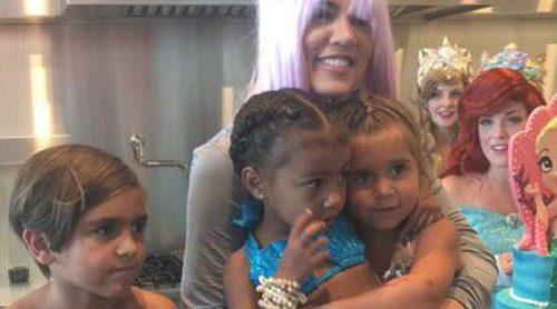 Las Kardashian organizan una divertida fiesta de cumpleaños temática para North West y Penelope Disick
