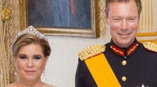 Sonrisas para olvidar tensiones: así celebró la Familia Real de Luxemburgo la Fiesta Nacional del Gran Ducado