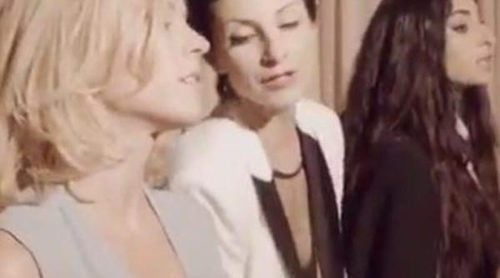 Najwa Nimri, Alba Flores y Maggie Civantos unen fuerzas musicales fuera de 'Vis a Vis'
