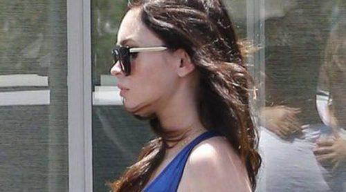 Megan Fox pasea su avanzado embarazo junto a Brian Austin Green y sus dos hijos Noah y Bodhi