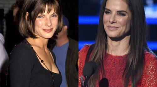 Así ha cambiado Sandra Bullock: De la discreción en sus inicios a ser una de las actrices más guapas de Hollywood