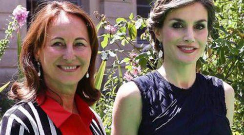 El inolvidable día en París de la Reina Letizia: embajadora de la FAO y almuerzo con su amiga Ségolène Royal