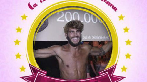 Jorge Díaz se convierte en la celebrity de la semana después de ganar 'Supervivientes 2016'