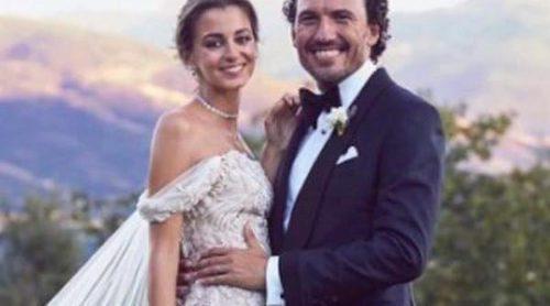 Gabriela Palatchi y Ediz Elhadef se casan en una espectacular boda a la que no faltaron Gala González y Diego Osorio
