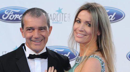 Antonio Banderas, estrella en la Gala Starlite 2016 acompañado de Nicole Kimpel