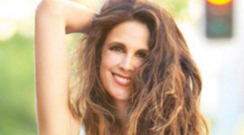 ¿Se ha pasado Nuria Fergó con el Photoshop en la portada de su disco 'Bailando bajo la lluvia'?