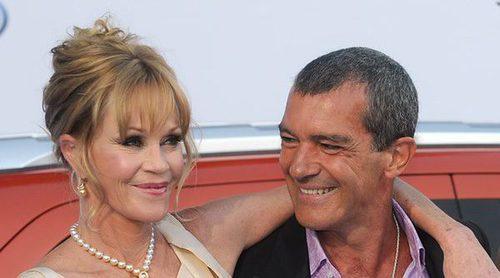 Antonio Banderas y Melanie Griffith, un exmatrimonio cordial y bien avenido