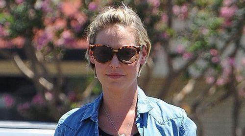 Luciendo tripita y estilo: Katherine Heigl, una embarazada muy chic