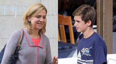 La Infanta Cristina busca colegio para su hijo Pablo Nicolás lejos de Suiza