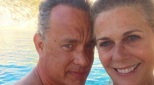 Tom Hanks y su mujer Rita Wilson derrochan pasión tras 28 años juntos