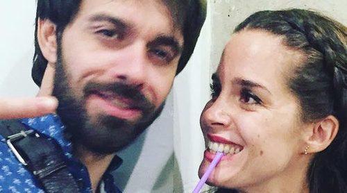 Alberto Amarilla y Nuria Gago, protagonistas de 'Mis Adorables Vecinos', se han reencontrado