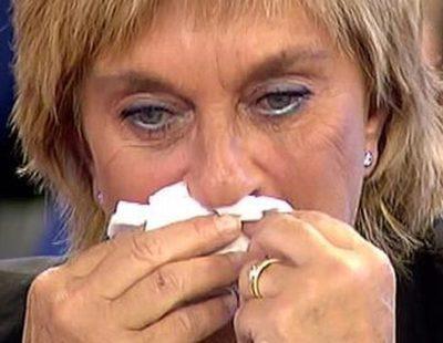 Chelo García Cortés, humillada por sus compañeros en 'Sálvame' por su 'teatro' con Bárbara Rey