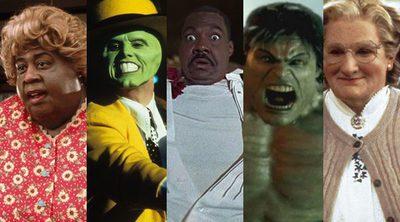 Las películas de transformación más graciosas y llamativas de la historia del cine