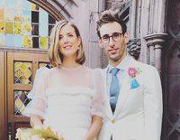 Agyness Deyn se casa con Joel McAndrew y luce un look muy original en su boda