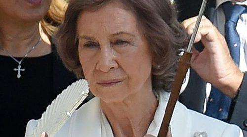 La Reina Sofía, emocionada y acalorada en la ceremonia de Canonización de la Madre Teresa de Calcuta