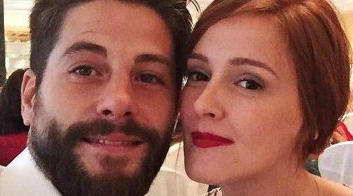 Ana Polvorosa y Luis Fernández, dos enamorados en la boda de unos amigos. ¿Serán ellos los siguientes?
