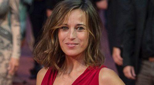 Marta Etura luce embarazo en la alfombra roja del FesTVal 2016