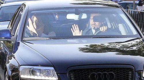 Los Reyes Felipe y Letizia acompañan a la Princesa Leonor y la Infanta Sofía en la vuelta al cole