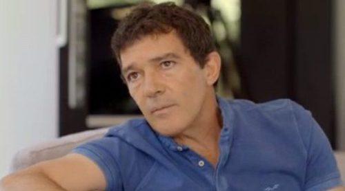 Antonio Banderas se sincera con Bertín Osborne: 'Hablo dos veces por semana con Melanie Griffith'