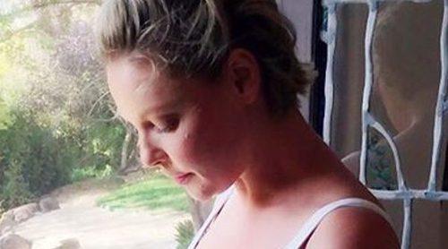 Katherine Heigl muestra muy orgullosa su barriguita de 19 semanas