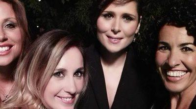 Reencuentro 'OT': Nina posa con Rosa López, Verónica Romero y Mireia Montávez