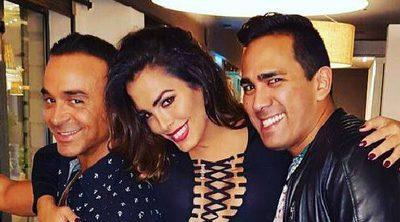 Amor Romeira olvida su pelea con Maite y Sofía de cena con Luis Rollán y Rosario Mohedano
