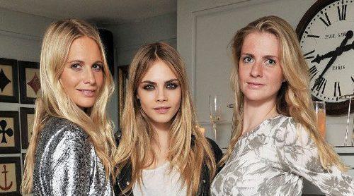 Las hermanas Delevingne: tres jóvenes marcadas por el éxito y la fortuna