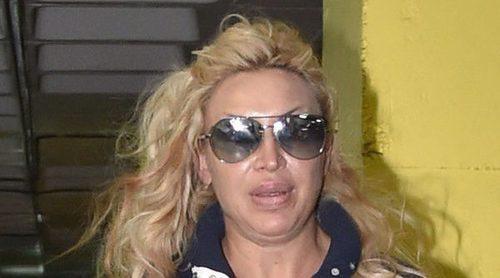 Raquel Mosquera, ingresada en la unidad de psiquiatría del Hospital Puerta de Hierro de Madrid