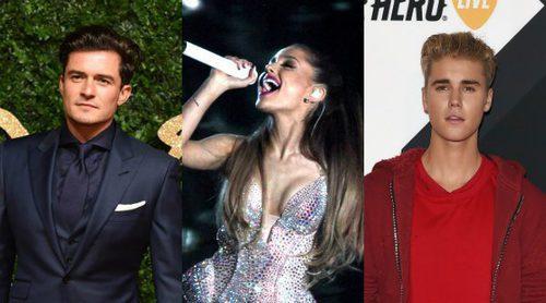 Orlando Bloom, Ariana Grande y Justin Bieber: los pillados y bochornos del verano