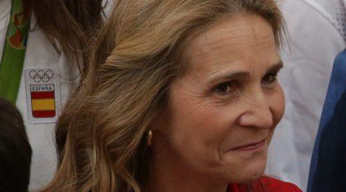 La Infanta Elena eclipsa a los Reyes Felipe y Letizia en la audiencia a los olímpicos y paralímpicos de Rio