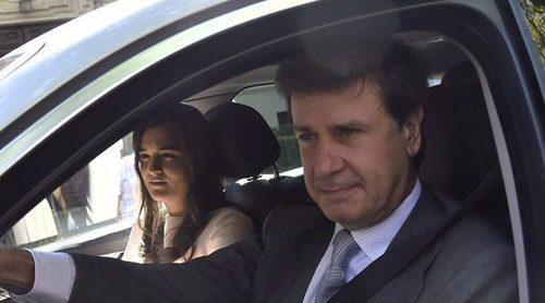 Cayetano Martínez de Irujo hace oficial su relación con Bárbara Mirjan en la boda de su sobrino