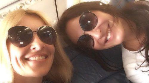Cuñadas bien avenidas: Ana Milán y Cayetana Guillén Cuervo comparten amistad