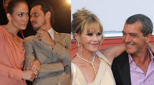 Padres separados famosos bien avenidos: de Miranda Kerr y Orlando Bloom a Banderas y Melanie Griffith