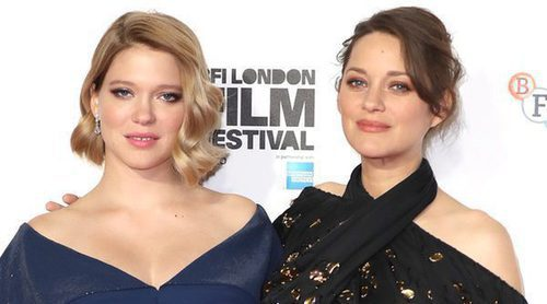 Marion Cotillard y Lea Seydoux lucen embarazo en el BFI London Film Festival 2016