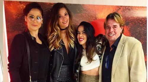 Rosa López, Beatriz Luengo, Juan Muñoz y Lorena Gómez acuden al último concierto de Auryn