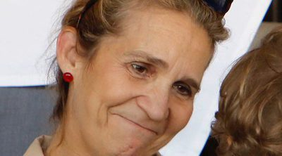 La Infanta Elena se pone maternal con el hijo de Marta Ortega para evitar saludar a dos parientes incómodas