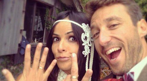 Raquel del Rosario y Pedro Castro se ponen románticos al felicitarse por su tercer aniversario de casados