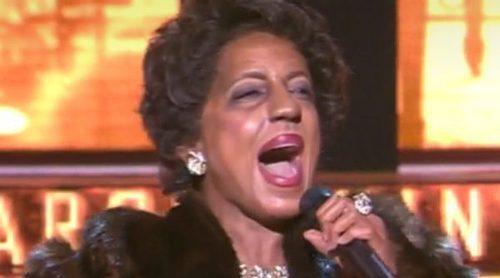 Ruth Lorenzo regresa al plató de 'TCMS' con una espectacular imitación de Aretha Franklin