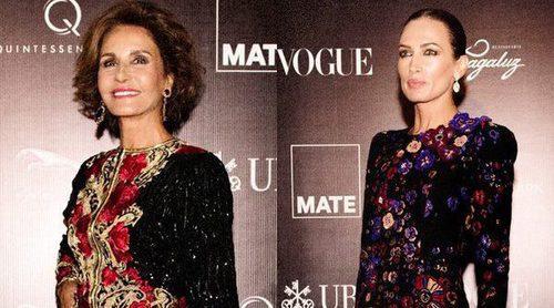 Naty Abascal y Nieves Álvarez brillan en la Gala MATE presidida por Mario Testino en Perú