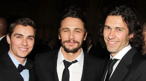 James, Dave y Tom Franco: hermanos, actores y rodeados por el arte