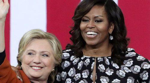 Michelle Obama apoya a Hillary Clinton en un mitin en su campaña presidencial