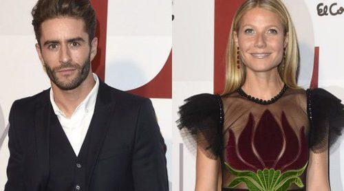 Pelayo Díaz desmiente haber ido detrás de Gwyneth Paltrow en un evento en Madrid para fotografiarse con ella