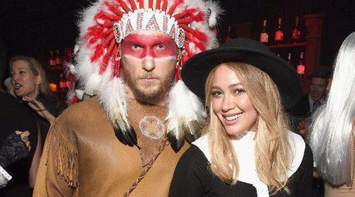 Hilary Duff entona el mea culpa por su disfraz de colono para Halloween 2016