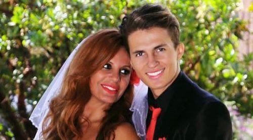 Sonia Monroy se casa por sorpresa con un futbolista colombiano en California