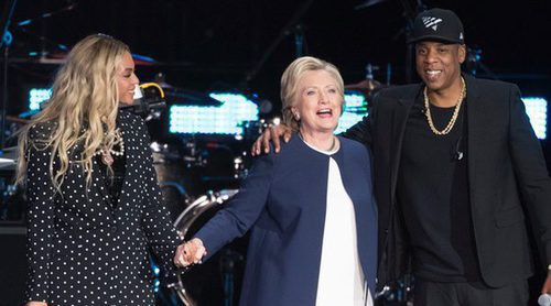 Beyoncé y Jay Z apoyan a Hillary Clinton en la recta final de su campaña por la Casa Blanca