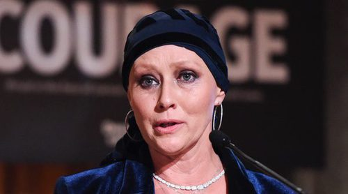 Shannen Doherty recibe un premio por su incansable y optimista lucha contra el cáncer