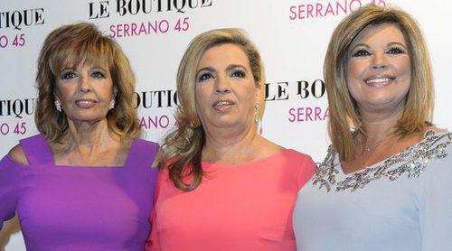 Arancha de Benito, Noelia López, Juan Peña..., nadie se ha perdido el cumpleaños de Carmen Borrego