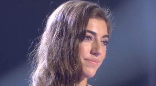 Claudia es eliminada de 'La Voz' ante la atenta mirada de su madre Raquel Revuelta